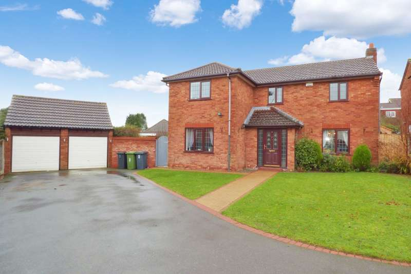 4 Bedrooms Detached House for sale in Eagle Close, Thornhill, Nuneaton, CV11