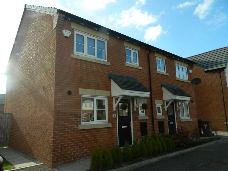 3 Bedrooms Semi Detached House for sale in Bannister Court, Shevington, Wigan, WN6