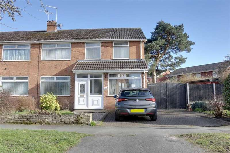 4 Bedrooms Semi Detached House for sale in Church Lane, Wistaston, Crewe