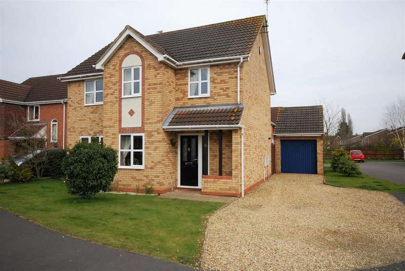 3 Bedrooms Detached House for sale in Vicarage Close, Cowbit, Spalding
