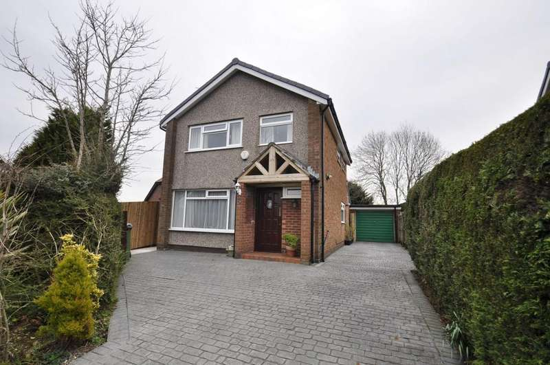 3 Bedrooms Detached House for sale in Camberley Close, Bramhall