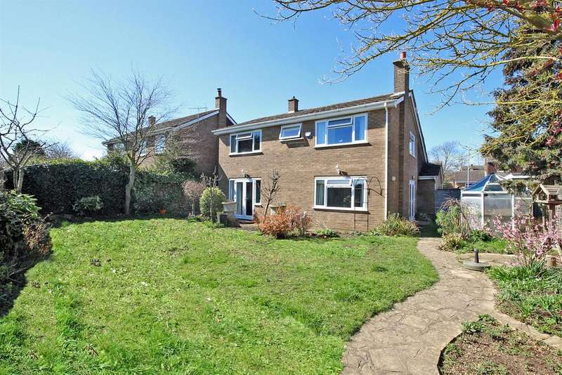 4 Bedrooms Detached House for sale in Poplar Close, Roxton