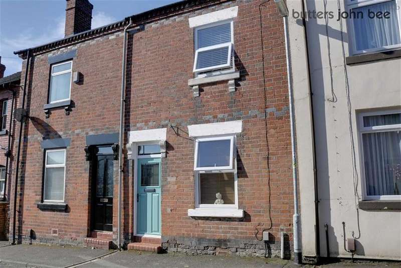 2 Bedrooms Terraced House for sale in Church Street, Stone, Staffordshire