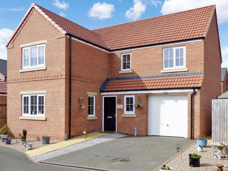 4 Bedrooms Detached House for sale in Sycamore Avenue, Aiskew, Bedale