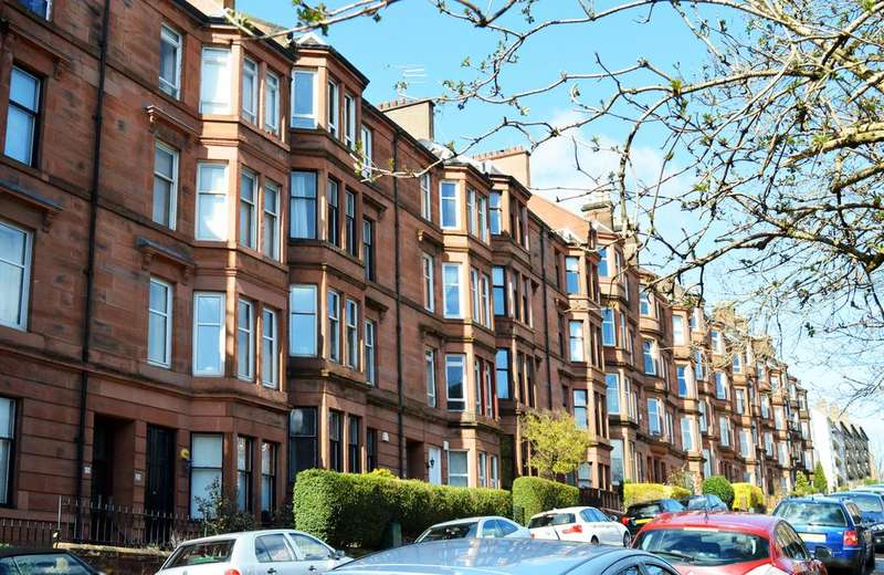 2 Bedrooms Flat for sale in Thornwood Drive, Glasgow G11