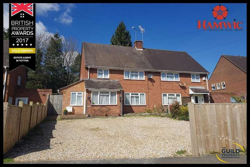 3 Bedrooms Semi Detached House for sale in Ipley Way, Hythe, Southampton SO45