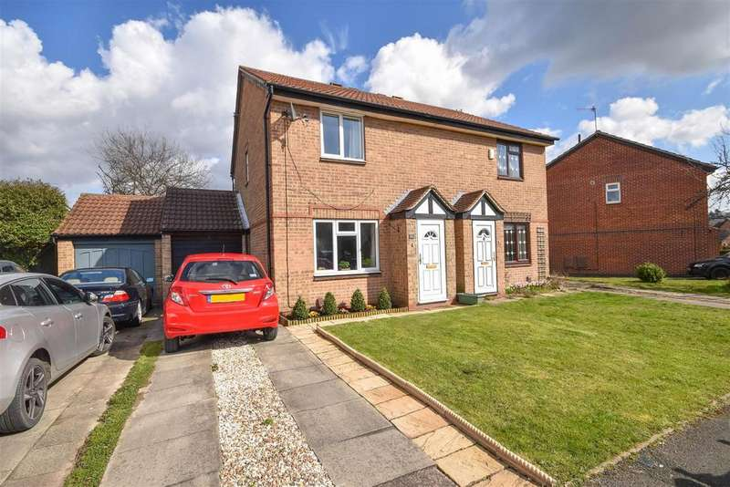 3 Bedrooms Semi Detached House for sale in Mickleborough Way, West Bridgford, Nottingham