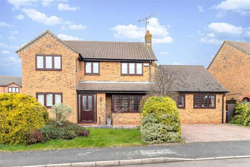 4 Bedrooms Detached House for sale in Brampton Close, Barton Seagrave