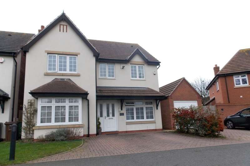4 Bedrooms Detached House for sale in The Green, Castle Bromwich, Birmingham, B36