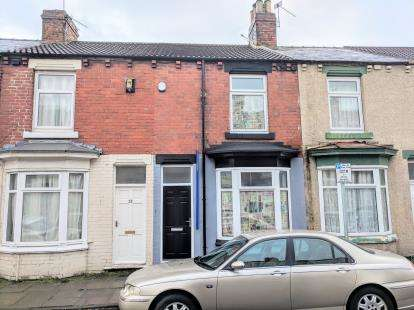 2 Bedrooms Terraced House for sale in Cadogan Street, Middlesbrough, .