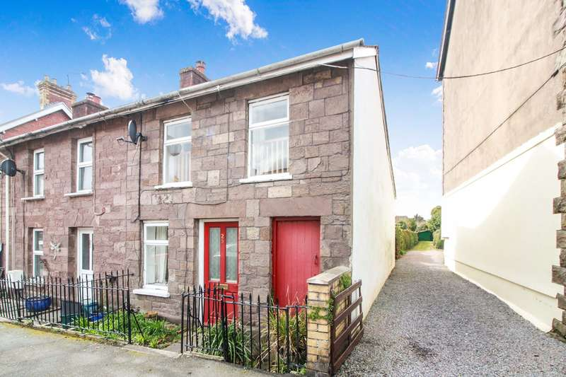 2 Bedrooms End Of Terrace House for sale in North Street, Abergavenny, NP7