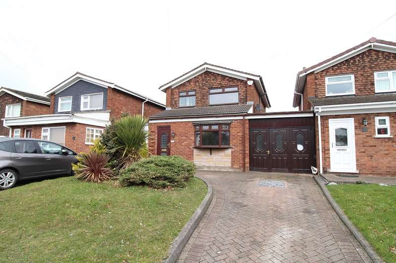 3 Bedrooms Link Detached House for sale in Farbrook Way, Willenhall, West Midlands, WV12