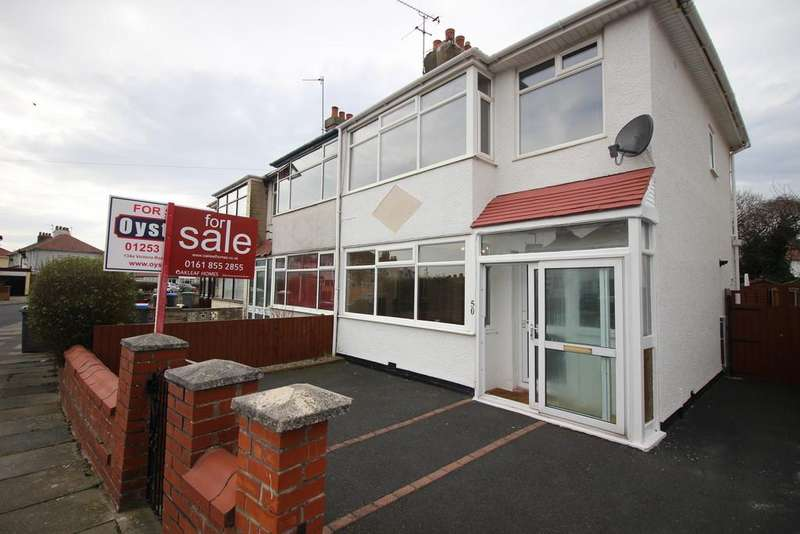 3 Bedrooms Semi Detached House for sale in Rookwood Avenue, Thornton-Cleveleys