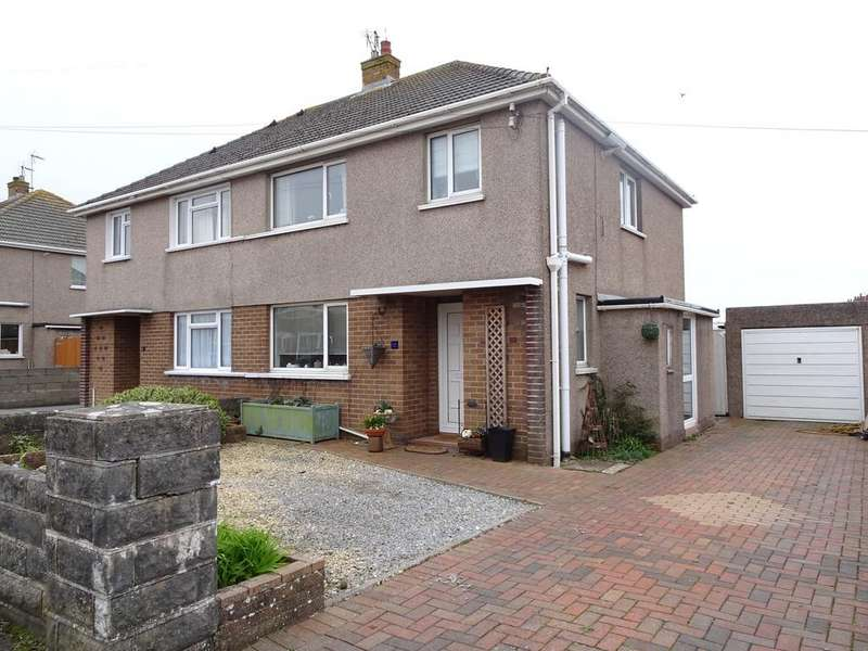3 Bedrooms Semi Detached House for sale in WESTFIELD CRESCENT, NOTTAGE, PORTHCAWL, CF36 3SG