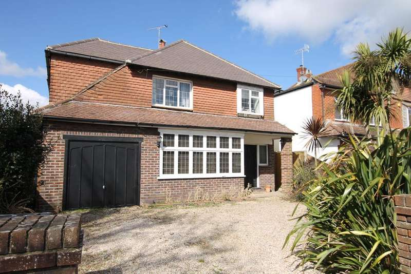 4 Bedrooms Detached House for sale in Offington Drive, Worthing BN14 9PS