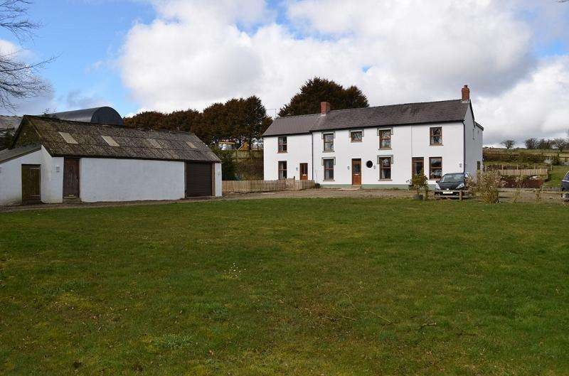 7 Bedrooms Land Commercial for sale in Pantgwyn , Blaenycoed Road, Cynwyl Elfed, Carmarthen, Carmarthenshire. SA33 6TB