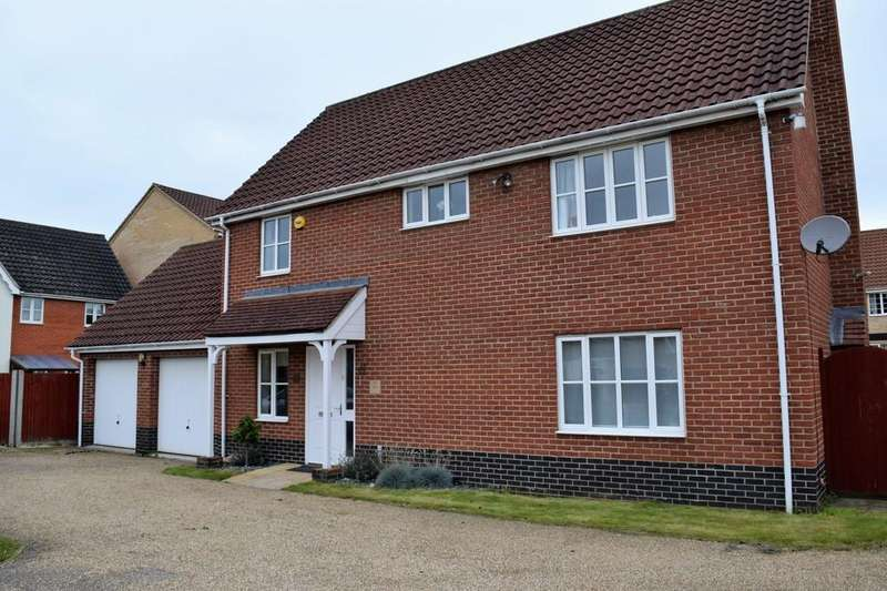 4 Bedrooms Detached House for rent in Charlock Road, Thetford