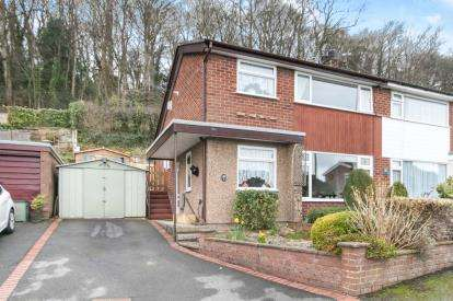 3 Bedrooms Semi Detached House for sale in Rhiw Grange, Colwyn Bay, Conwy, North Wales, LL29