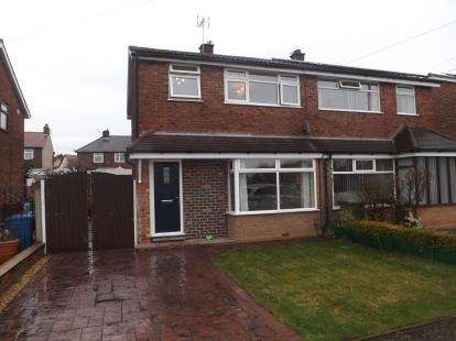 3 Bedrooms Semi Detached House for sale in Halewood, Golborne, Warrington, WA3