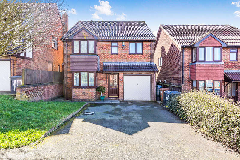 4 Bedrooms Detached House for sale in Janes Way, Markfield, LE67