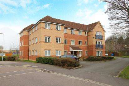 2 Bedrooms Flat for sale in Barclay Grange, Wain Avenue, Chesterfield, Derbyshire