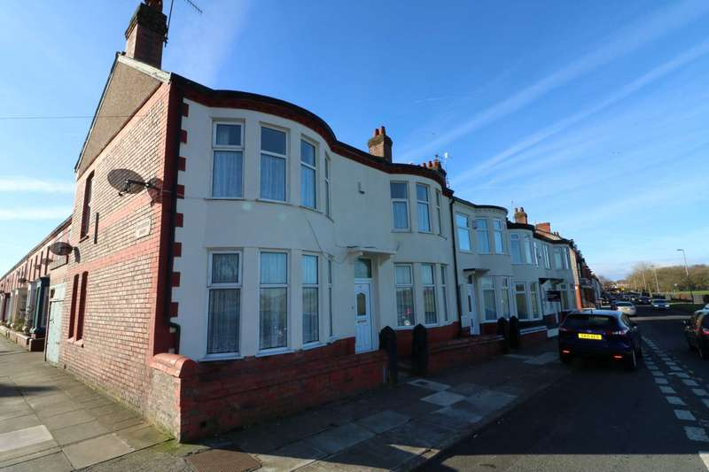 4 Bedrooms End Of Terrace House for sale in Grant Avenue, Liverpool