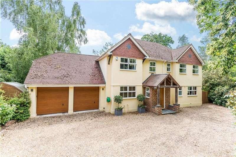 5 Bedrooms Detached House for sale in Christchurch Road, Virginia Water, Surrey, GU25