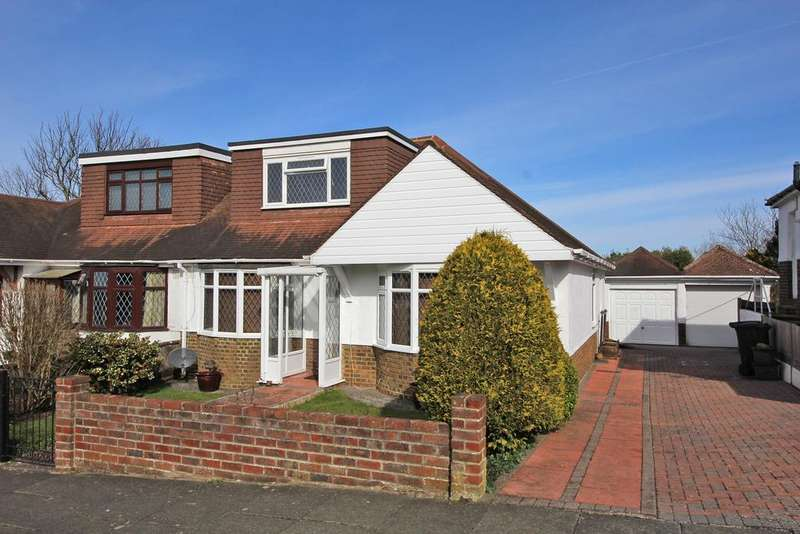 3 Bedrooms Semi Detached House for sale in Larkfield Way, Brighton BN1