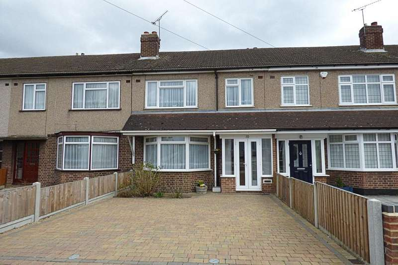 3 Bedrooms Terraced House for sale in Severn Drive, Upminster RM14