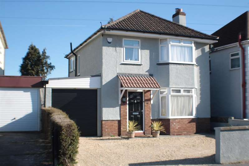 3 Bedrooms Detached House for sale in Highridge Road, Bishopsworth, Bristol, BS13 8HL