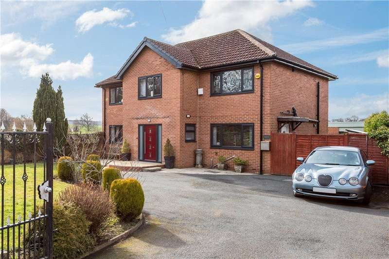 4 Bedrooms Detached House for sale in Bleakley Lane, Notton, Wakefield, West Yorkshire