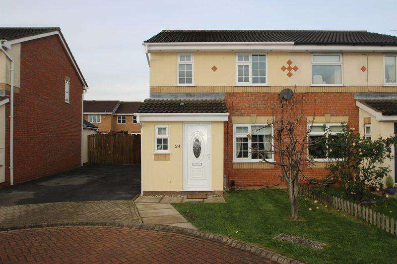 3 Bedrooms Semi Detached House for rent in BELGRAVE ROAD, SCARTHO TOP, GRIMSBY