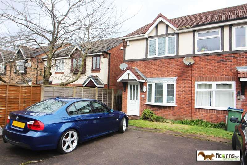 2 Bedrooms End Of Terrace House for sale in Burdock Close, Walsall