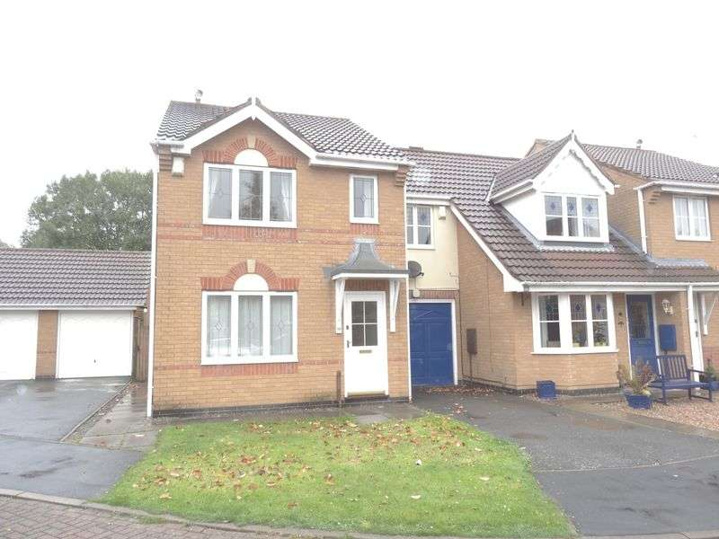3 Bedrooms Semi Detached House for rent in Cromwell Close, Ashby-De-La-Zouch
