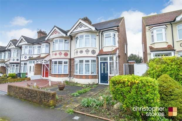 3 Bedrooms End Of Terrace House for sale in Hillside Crescent, Cheshunt, WALTHAM CROSS, Hertfordshire