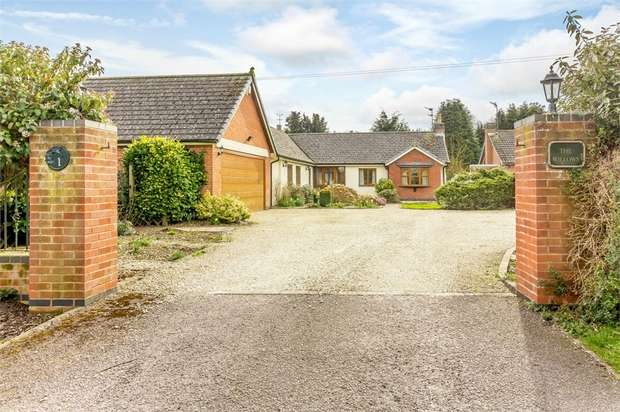 4 Bedrooms Detached Bungalow for sale in Six Hills Road, Ragdale, Melton Mowbray, Leicestershire