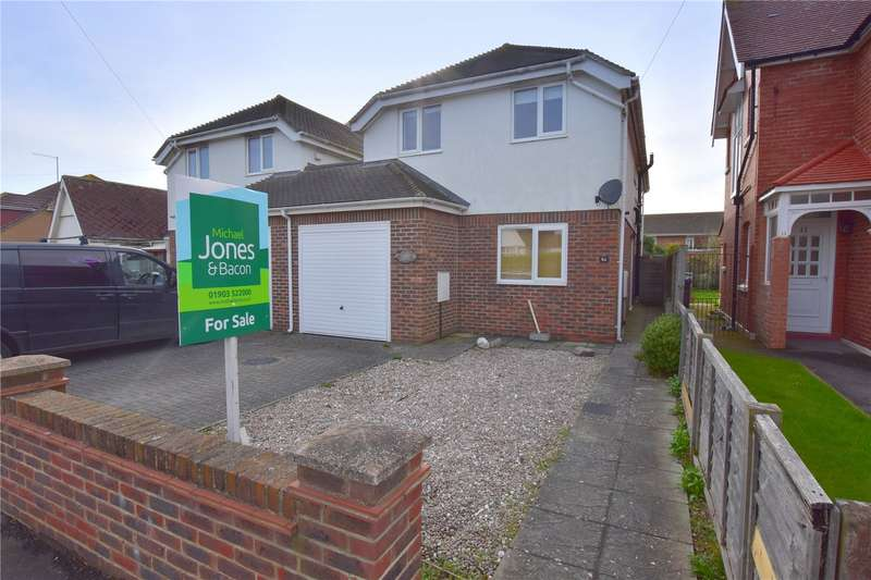 3 Bedrooms Link Detached House for sale in Kings Road, Lancing, West Sussex, BN15