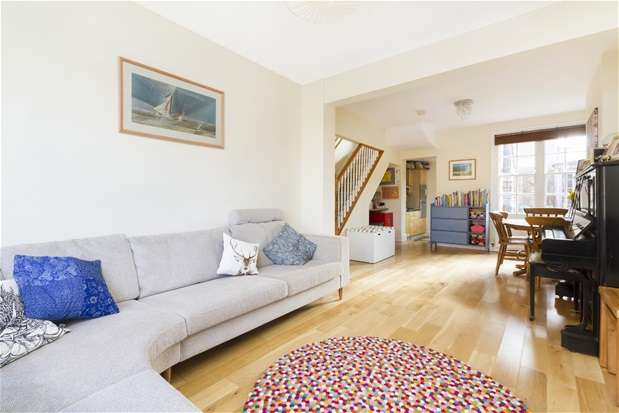 2 Bedrooms End Of Terrace House for sale in Peabody Cottages, Rosendale Road