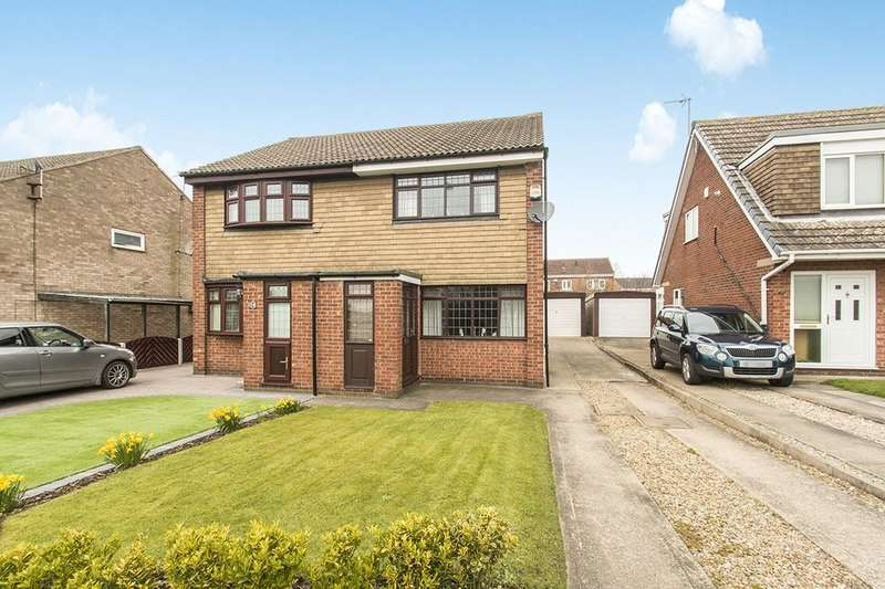 2 Bedrooms Semi Detached House for rent in Low Shops Lane, Rothwell, Leeds, LS26