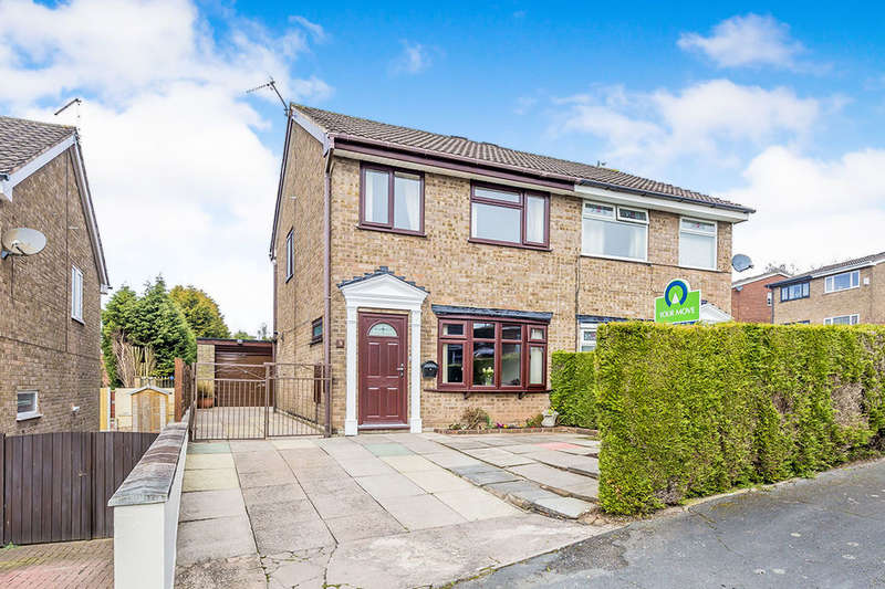 3 Bedrooms Semi Detached House for sale in Linacre Way, Parkhall, Stoke-On-Trent, ST3