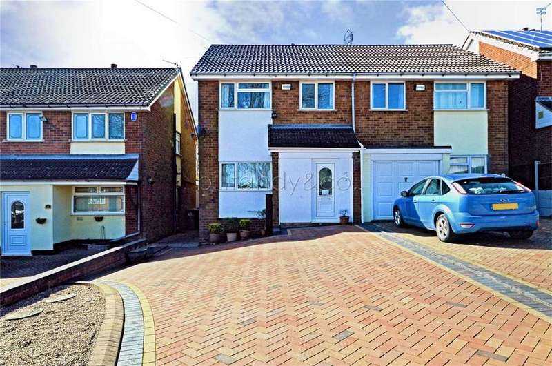 3 Bedrooms Semi Detached House for sale in School Lane, Chase Terrace, Burntwood, Staffordshire