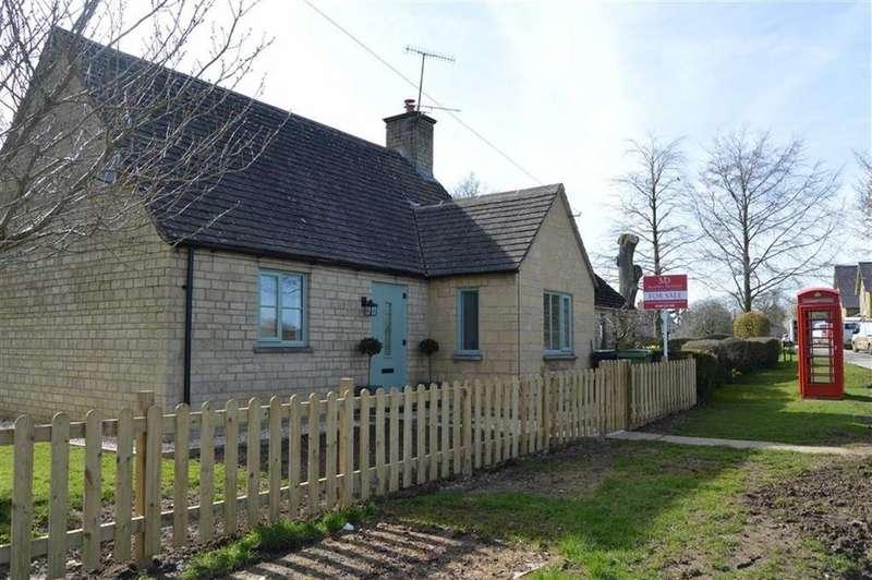3 Bedrooms Semi Detached Bungalow for sale in Ridgeways, Evenlode, Gloucestershire