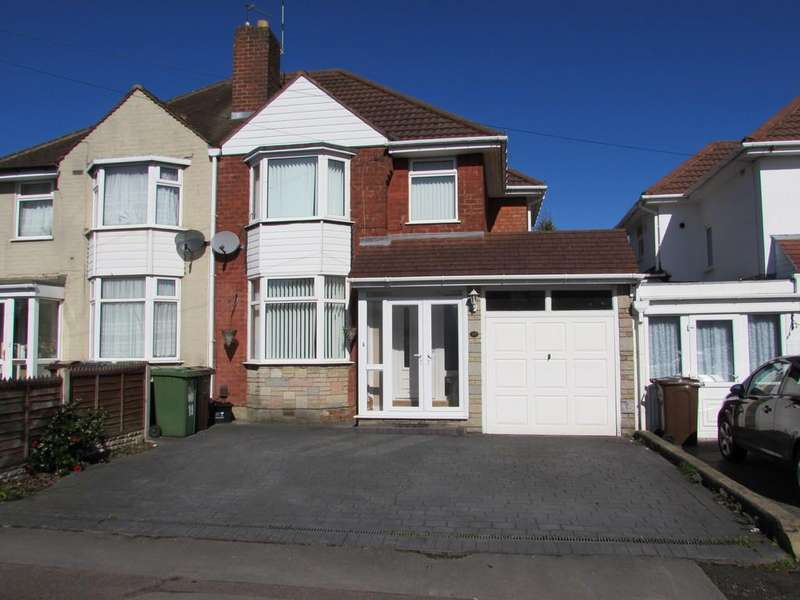 3 Bedrooms Semi Detached House for sale in Jacey Road, Shirley
