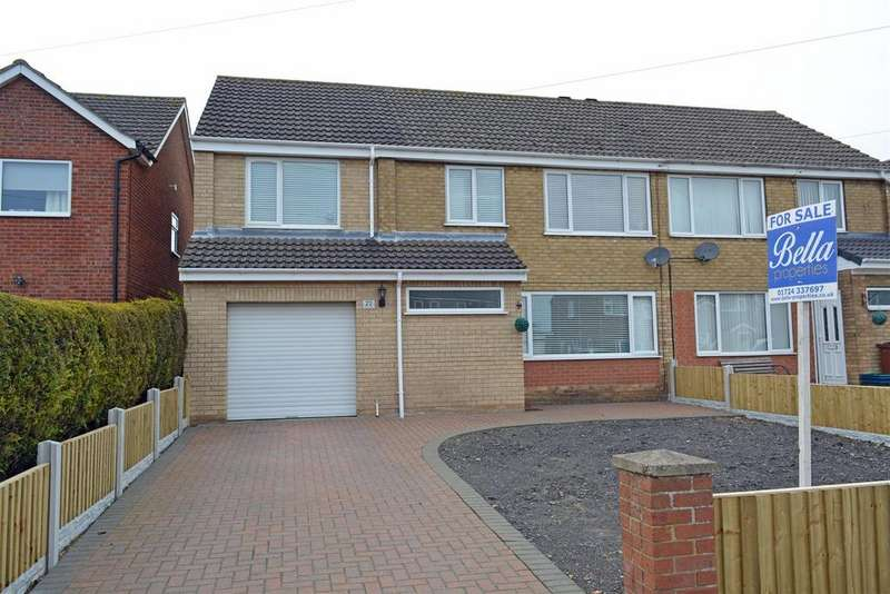 5 Bedrooms Semi Detached House for sale in Wesley Close, Winterton, Scunthorpe