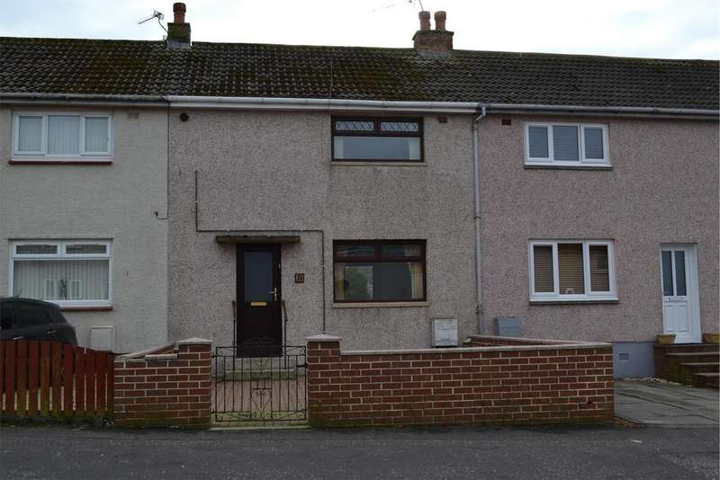2 Bedrooms Terraced House for sale in 24 Simpson Drive, Saltcoats, KA21 6EX
