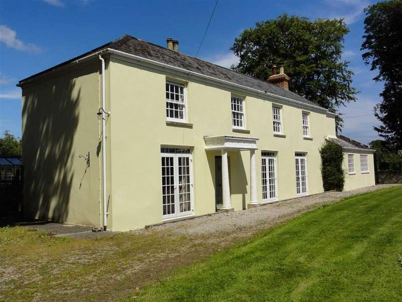 4 Bedrooms Detached House for sale in Shebbear, Shebbear, Beaworthy, Devon, EX21