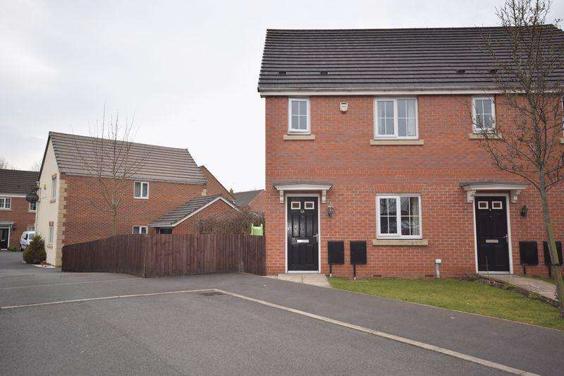 3 Bedrooms Semi Detached House for sale in West Malling Close, Heywood