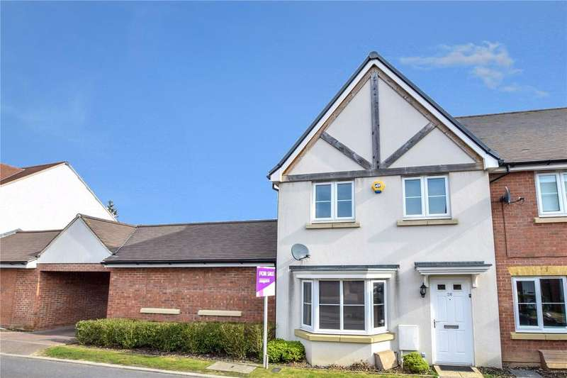 3 Bedrooms End Of Terrace House for sale in Wright Close, Bushey, Hertfordshire, WD23
