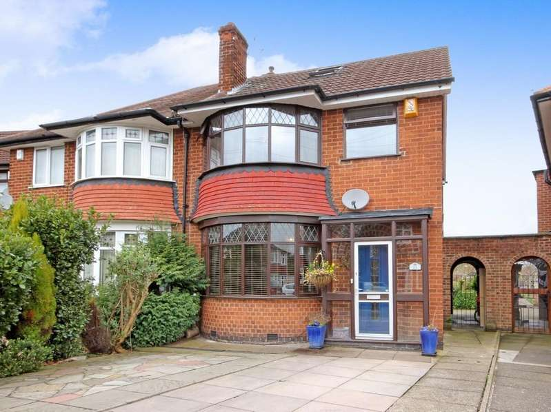 4 Bedrooms Semi Detached House for sale in Oaklands Avenue, Loughborough