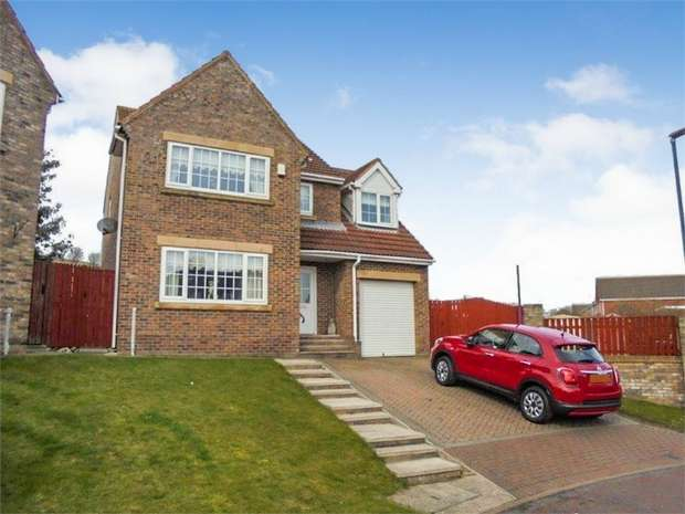 4 Bedrooms Detached House for sale in Ellison Meadow, Horden, Peterlee, Durham